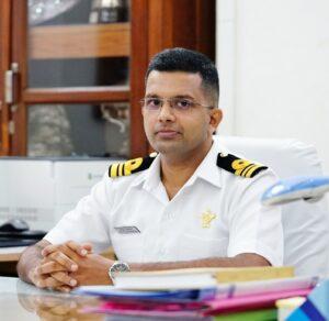 Lt Cdr Abilash Balachandran